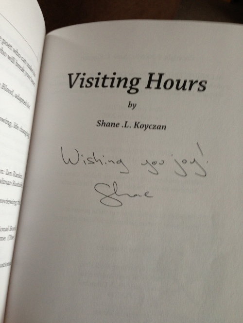 Visiting Hours by Shane Koyczan